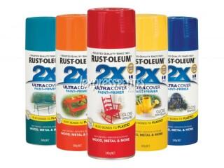 Rust-Oleum 2x Aerosol paints