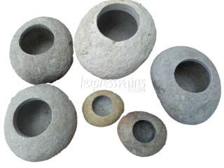 Natural stone Flower pots