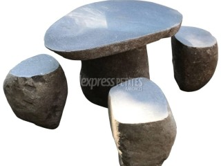 Stone table with/without Stools