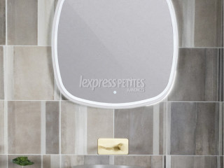 Seine Illuminated LED Mirror