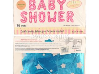 Helium balloon ''Baby shower ''
