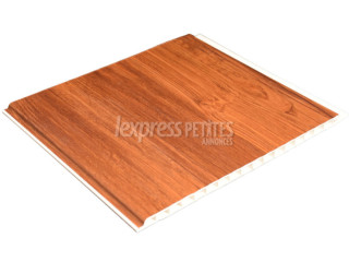 Sapelé PVC planks for wall & ceiling