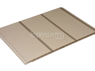 Groove 3 Silver Line PVC planks wall & Ceiling