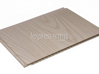 Silver Wood PVC planks Wall & Ceiling