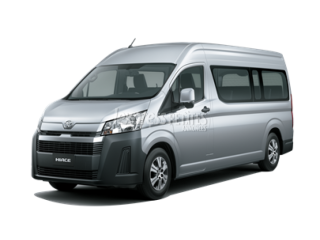New Toyota Hiace Deluxe