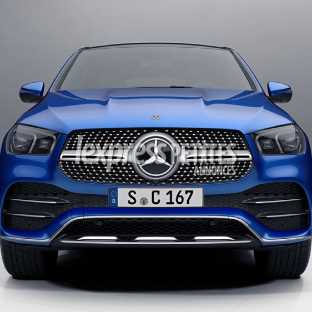 New Mercedes-Benz GLE-Class Coupe