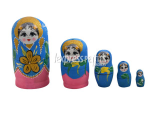 Decorative Russian doll