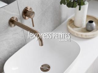 Meir® Champagne - Bathroom taps
