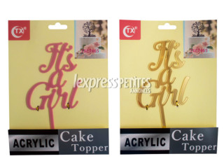 Cake topper Girl/Boy